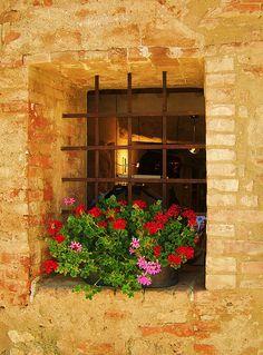 Rustic Window in Italy