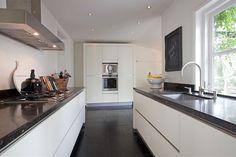 Inspiratie Smalle Keuken : Beste afbeeldingen van parallel keuken kitchens kitchen