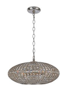 Solstice 6-Light Chandelier by Crystorama at Gilt