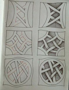 41 Ideas For Drawing Ideas Zentangle News Doodles Zentangles, Tangle Doodle, Tangle Art, Zentangle Drawings, 3d Drawings, Doodle Drawings, Doodle Art, Zen Doodle, Doodle Patterns