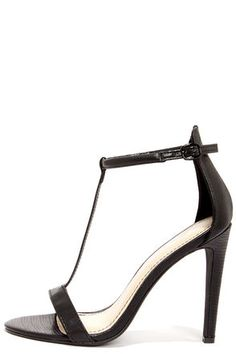 Never has a lizard looked so sexy on a stiletto! Anne Michelle $28 | Lulus.com