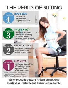 The Perils of Sitting | Chiropractic Marketing