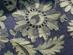 Blonde de Caen Types Of Lace, Linens And Lace, Ribbon Work, Lace Embroidery, Lace Making, Bobbin Lace, Vintage Lace, Antiques, Lavender