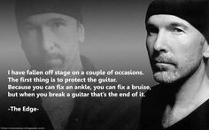 True words from The Edge