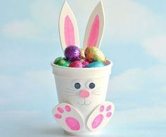 Get crafty this spring for less with these dollar store easter crafts. From DIY Easter decor to easter crafts for kids, there are plenty of fun craft ideas Foam Crafts, Craft Stick Crafts, Easy Crafts, Craft Foam, Crafts For Kids To Make, Easter Crafts For Kids, Summer Crafts, How To Make Foam, Diy Osterschmuck