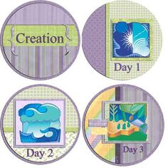 Genesis 1-11 Lapbook | Digital Scrapbooking Blog