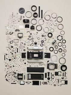 Exploded Pentax | Todd McLellan