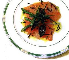 In #Brazil, we've been inspired by this Salmon Crudo with Olive Oil and Ginger! - Olive Oils from Spain