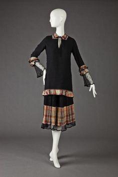 Dress  1921-1923  The Goldstein Museum of Design