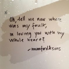 Mumford and Sons ( White Blank Page )