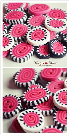 Chicci Chicci made with love: ♥ Fimo Knöpfe DIY - Step by Step ♥