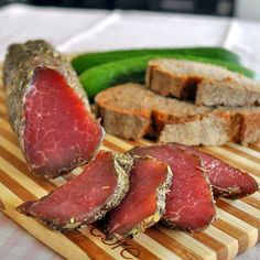 Polendwitsa (or poledwica) in Belarusian cuisine is meat, salted, rubbed with spices and air-dried.