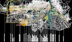 Reconstruction proposals after Lorca Earthquake at Spain Architecture Mapping, Architecture Visualization, Architecture Graphics, Landscape Architecture, Landscape Design, Map Artwork, Urban Analysis, Presentation Layout, Concept Diagram