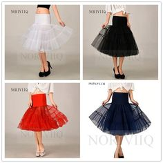 "Retro Swing Fancy Net Petticoat Skirt Rockabilly Vintage Short Underdress 25""  #Petticoat"