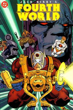 Jack Kirby Fourth World Gallery Simonson 1996 cover