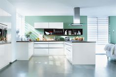 German Kitchen Designs - Home Of Quality Kitchens From Kitchen Cabinet Design, Kitchen Cabinets, Kitchen Designs, Kitchen Ideas, Küchen In U Form, Handleless Kitchen, German Kitchen, Kitchen Gallery, Quality Kitchens