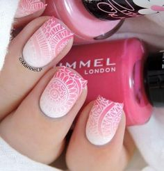 Totally Hip Summer Nail Designs Your Friends Will Envy - Nägel - Nageldesign Fabulous Nails, Gorgeous Nails, Love Nails, Pretty Nails, My Nails, Nail Lacquer, Nail Polish, Nails 2016, Trendy Nail Art