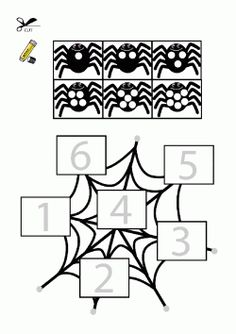 printables for kids Adult Coloring Book Pages, Coloring Books, Coloring Pages, Bricolage Halloween, Halloween Crafts For Kids, Diy And Crafts, Kid Crafts, Preschool, Puzzle