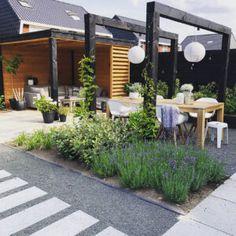 Outdoor Rooms, Outdoor Gardens, Outdoor Living, Outdoor Decor, Patio Design, Garden Design, Easy Garden, Home And Garden, Small Back Gardens