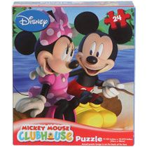 Bulk Disney Mickey Mouse Clubhouse 24-Piece Puzzles at DollarTree.com $1 excellent party favor!