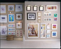 Design FormuLA: Making a Picture Wall Collage - several great wall gallery ideas!