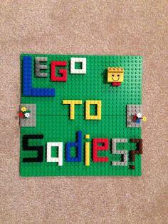 hoco proposals ideas boyfriends Sadie Hawkins idea with Legos Sadies Dance, Sadie Hawkins Dance, Boyfriend Gifts, Boyfriend Ideas, Dance Proposal, Hoco Proposals, Promposal, Formal Dance, Senior Quotes