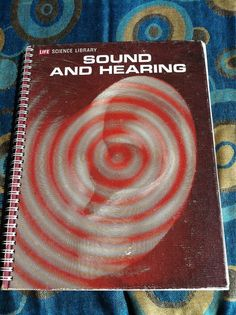 Sound and Hearing Blank book by Merrittorious on Etsy, $15.00