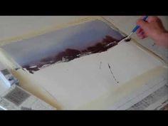 Los pinceles para pintar acuarela; algo indispensable - YouTube