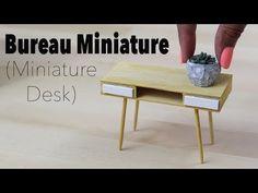 Рабочий стол Дома Мира (миниатюра desk) 1/12⎪Doll House - YouTube