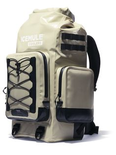 Introducing the ICEMULE BOSS Insulated Backpack Cooler from ICEMULE Coolers. Built for the long haul with ultimate ice retention and portability to let you go the distance. Ultimate ease of use. Get yours today! Backpack Straps, Insulated Backpack Cooler, Soft Cooler Bag, Cooler Reviews, Cold Weather Camping, Soft Sided Coolers, Backpack Reviews, Mens Gear, Technology