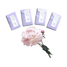 #Peony Plum Blossom Scented Drawer #Sachets - Candle Fragrance Packets - Wedding DIY Floral Favors - Purple Pink Minimalist - Gift For Her #handmade on #etsy by #pebblecreekcandles , $12.00