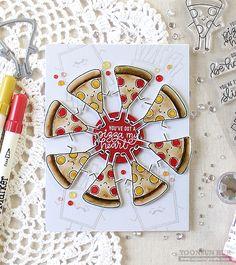 Simon Says Stamp Funny Food | RejoicingCrafts