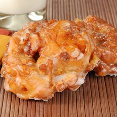 A tender and moist apple fritter recipe that will make your friends think you are a master baker.. Simple Apple Fritters Recipe from Grandmothers Kitchen.