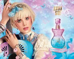 anna sui,not only do the perfumes smell nice,but the bottles are super cute!!