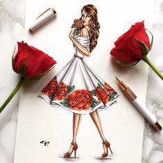 18 Ideas fashion drawing dresses sketches moda for 2019 Dress Design Sketches, Fashion Design Sketchbook, Fashion Design Drawings, Fashion Sketches, Drawing Sketches, Dress Illustration, Fashion Illustration Dresses, Fashion Drawing Dresses, Fashion Dresses
