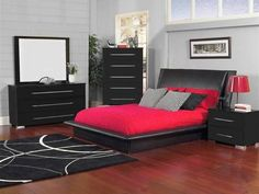 Bobs furniture bedroom set is available for different tastes, every budget and lifestyle. Contemporary bedroom sets are made of durable wood to last a lifetime and usually include the classic style bed, a cabinet, chest, a mirror and two nightstands. Make sure that each piece is a powerful and free from defects. The right furniture will give your room an elegant look.