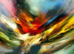 Solar Flare  by Leonardo Nierman