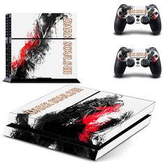 Dark souls 3 ps4 skin decal for console and controllers – Decal Design