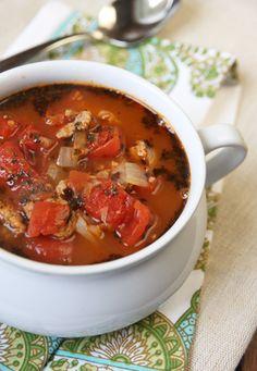 Lasagna Soup on Our Best Bites