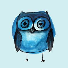 'Blue Owl Boy' by Jen Posford
