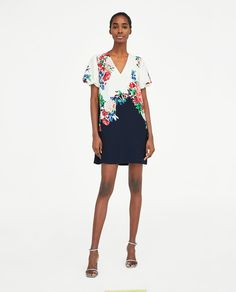ZARA - WOMAN - FLORAL PRINT DRESS