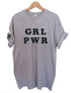 girl power grl pwr T Shirt Size XS,S,M,L,XL,2XL,3XL