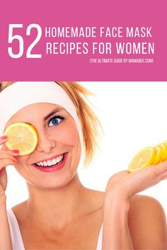 Homemade Face Mask Recipes for Women