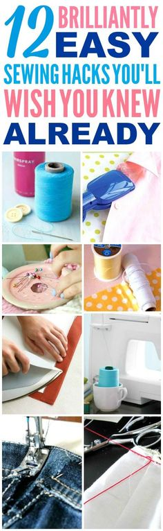 These easy sewing hacks are THE BEST!
