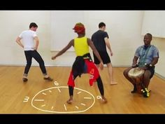 ▶ Best African Dance Lesson Tutorial Video - Dancing on the Clock ! - YouTube