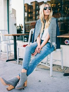 Boyfriend jeans are a staple for fall. Pair them with a chic sweater and ankle boots to dress them up: http://www.bhg.com/beauty-fashion/fashion/our-favorite-fall-2014-fashion-trends/?socsrc=bhgpin102714boyfriendjeans&page=7