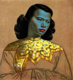 The face that launched a thousand prints - Russian painter Vladimir Tretchikoff's instantly recognisable Chinese Girl - is up for sale. The original painting is being auctioned in March 2013.