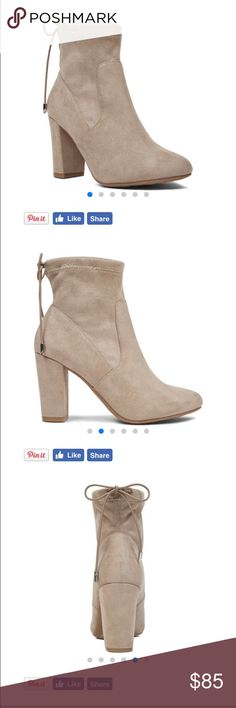 Nine West booties Stuart Weitzman look-a-likes! These suede booties are really beautiful! Nine West Shoes Ankle Boots & Booties