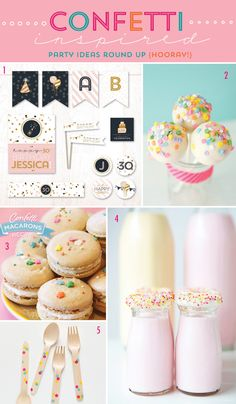 confetti inspired party ideas