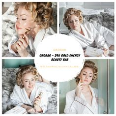 OROBAR - GOLD ENERGY BEAUTY BAR It's microcurrent vibrations sends stimulating energy at 6000 beats per minute through it's gold plated head directly into the skin Shop Now! Beauty Bar, Beats, Shop, Gold, Store, Yellow